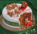 Торта с дядо Коледа