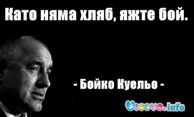 - Бойко Куельо -
